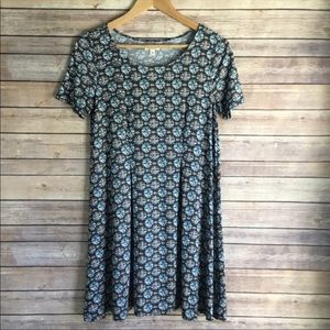 UO Silence + Noise Printed T-Shirt Dress
